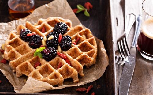 Christmas Morning Waffles Image